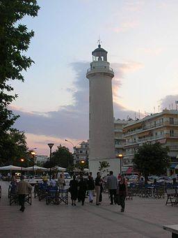 Lighthouse at Alexandroupolis, Greece