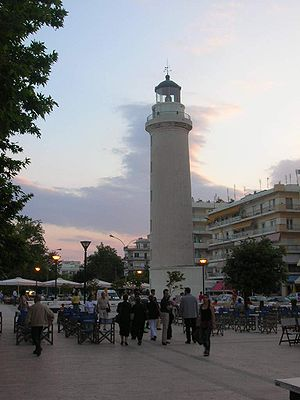 The Lighthouse at Alexandroupolis, Greece