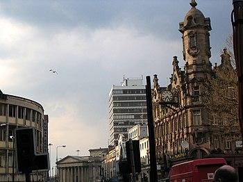 Lime Street, Liverpool, England.