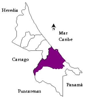 Limón (canton) - Limón canton in Limón province