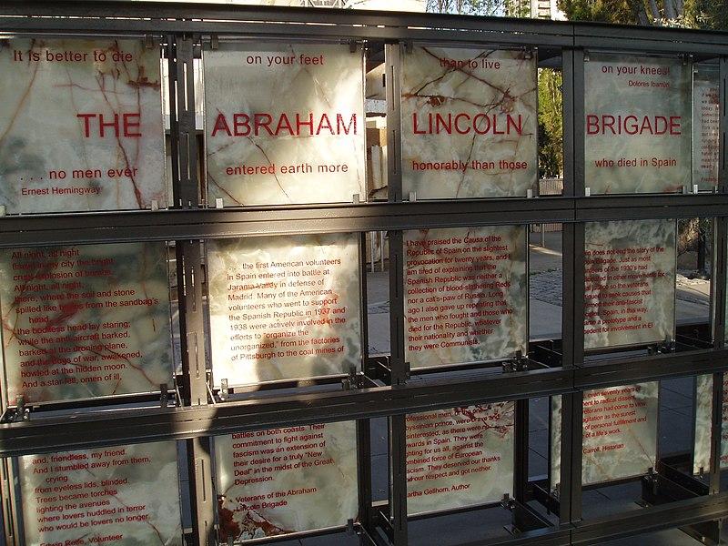 800px Lincoln Brigade Memorial San Francisco