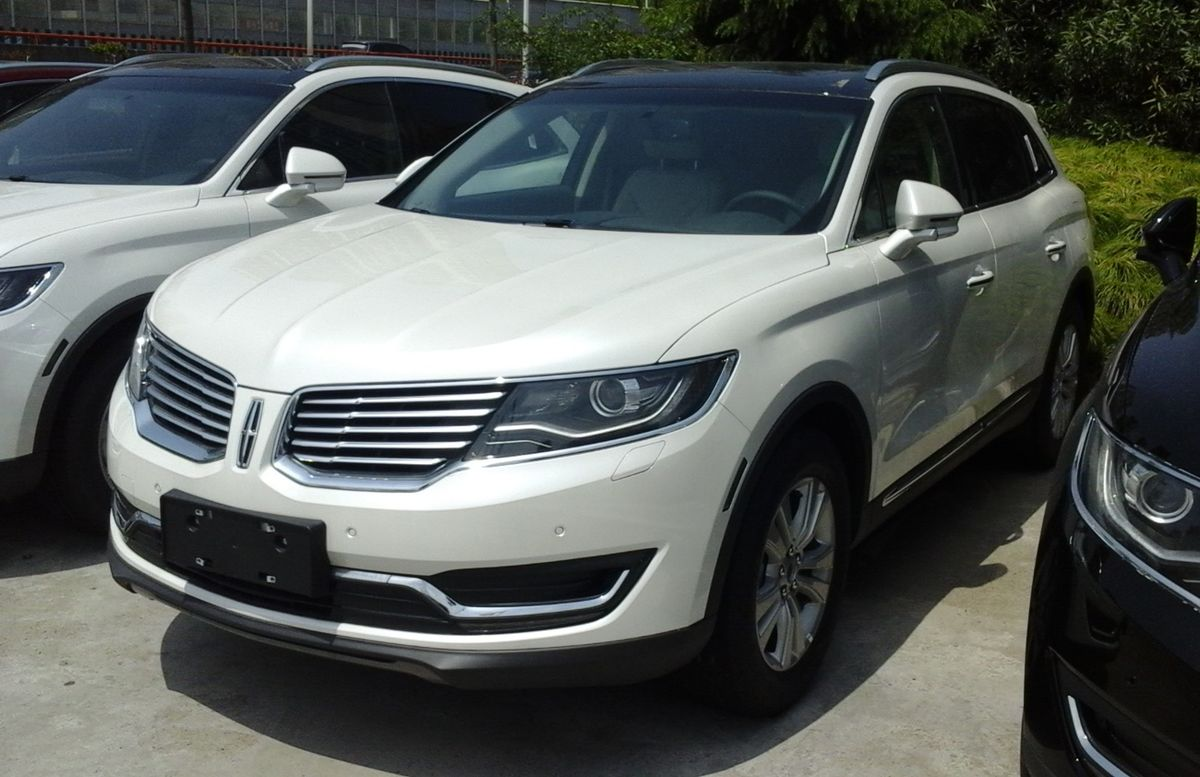 1200px Lincoln MKX II China 2016 04 18