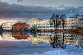 Linköping - The headquarters of regional utilities company, Tekniska Verken, at Stångebro