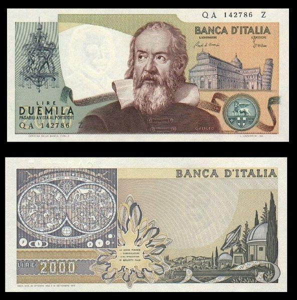File:Lire 2000 Galileo Galilei.JPG