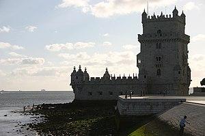 A eterna Torre de Belém, o maior ex-libris de Lisboa.
