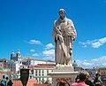 Lisbon, statue of Saint Vincent.jpg