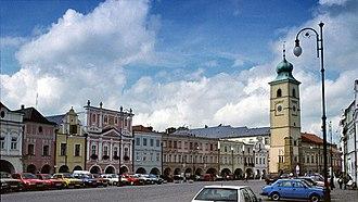 Litomyšl - Marketplace at Litomyšl