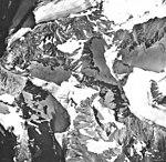 Little Jarvis Glacier, hanging glacier, September 17, 1966 (GLACIERS 5239).jpg