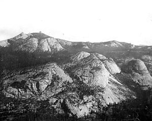 Little Yosemite Valley - North Wall of Little Yosemite Valley