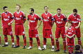 Liverpool F.C. lineup - Wigan Athletic v Liverpool, 9th March 2010.jpg