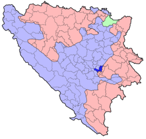 Seraii municipii collocatio in Bosnia et Herzegovina