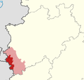 Locator map Region Aachen in Germany cropped.png
