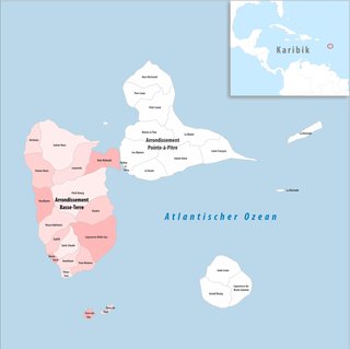 Arrondissement of Basse-Terre Arrondissement in Guadeloupe, France