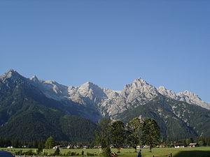 Lofer Mountains - Image: Loferer Steinberge 07.06