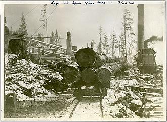 Logging - Log transportation