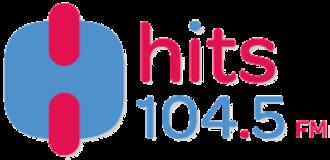 XHCHA-FM - Image: Logo Hits 104.5 FM