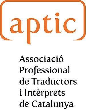Professional Association of Translators and Interpreters of Catalonia - Image: Logo Aptic