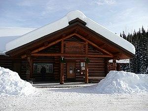 Lolo Pass (Idaho–Montana) - Image: Lolo Pass Visitor's Center
