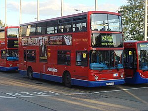 London Bus route 143.jpg