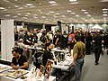 Long Beach Comic Expo 2011 - artist Georges Jeanty and the Expo crowd (5648075283).jpg