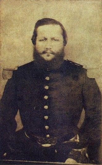 Francisco Solano López - Last picture of Francisco Solano López, c. 1870