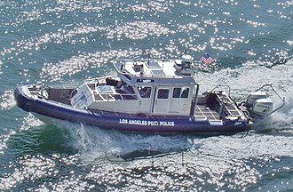 Los Angeles Port Police - A patrol boat used by the Los Angeles Port Police