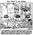 Los taxis y sus tarifas, de Tovar, La Voz, 20 de mayo de 1921.jpg