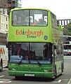 Lothian Buses open top tour bus 509 Dennis Trident Plaxton President T509 SSG Edinburgh Tour livery.jpg