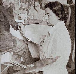 Lotte Laserstein by Wanda von Debschitz-Kunowski