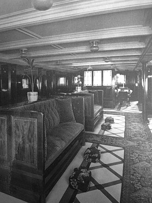 RMS Lady of Mann - Lounge on Lady of Mann.