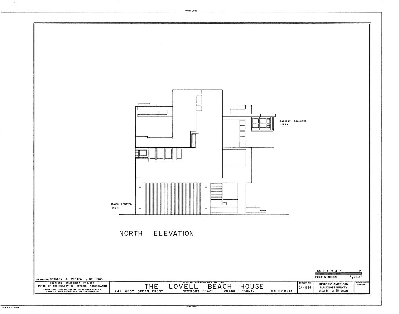 File lovell beach house drawing2 jpg wikimedia commons for Beach house drawing