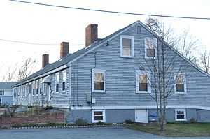 Chelmsford Glass Works' Long House - Image: Lowell MA Chelmsford Glass Works Long House