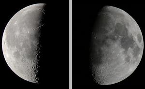 Lua em quarto minguante – Wikipédia, a enciclopédia livre