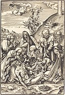 Lucas Cranach the Elder, The Lamentation, in or before 1509, NGA 37086.jpg