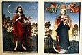 Lucas cranach il vecchio, s. giovanni battista e immacolata, 1550-52, 01.JPG