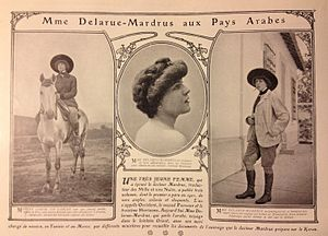 Lucie Delarue-Mardrus - September, 1905 issue of La Vie Heureuse