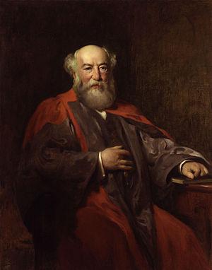 Ludwig Mond, by Solomon Joseph Solomon (died 1...