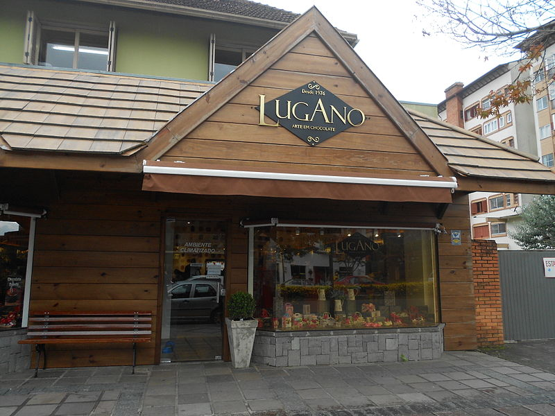 Chocolate Lugano em Gramado