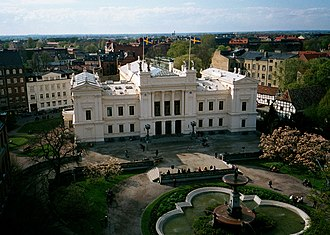 Lund University Main Building - The main building of the University of Lund.