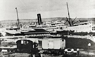SS Lusitania - Image: Lusitania 2a