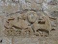 Lussas-et-Nontronneau Lussas église relief.JPG