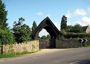 East Coker - Lychgate East Coker Cemetery
