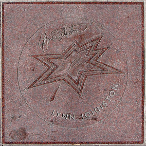 Lynn Johnston's star on Canada's Walk of Fame