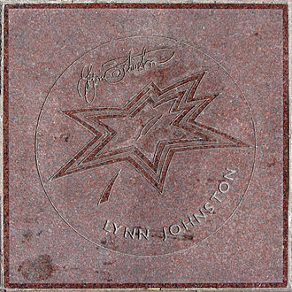 Lynn Johnston - Johnston's star on Canada's Walk of Fame