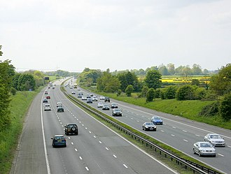 Highways England - The M4 Motorway is managed by Highways England.