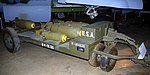M5 Bomb trailer, National Museum of the US Air Force, Dayton, Ohio, USA. (46085808862).jpg