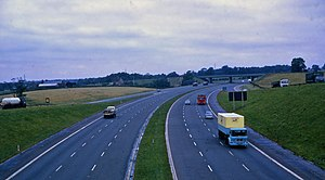 M6 motorway - The M6 in Cheshire