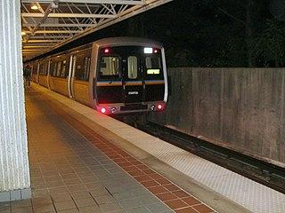 MARTA rail A rapid transit system in Atlanta, Georgia