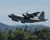 MC-130P Combat Shadow on humanitarian mission.JPG