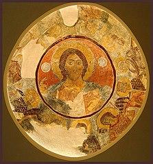 Τρούλος. Παρεκκλήσιο Αγίου Νικολάου Σπηλιά Νταβέλη (1233/1234) Βυζαντινό Μουσείο Αθηνών
